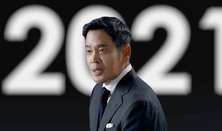 新世界集团副主席郑永进(图片来源:韩国时报).jpg